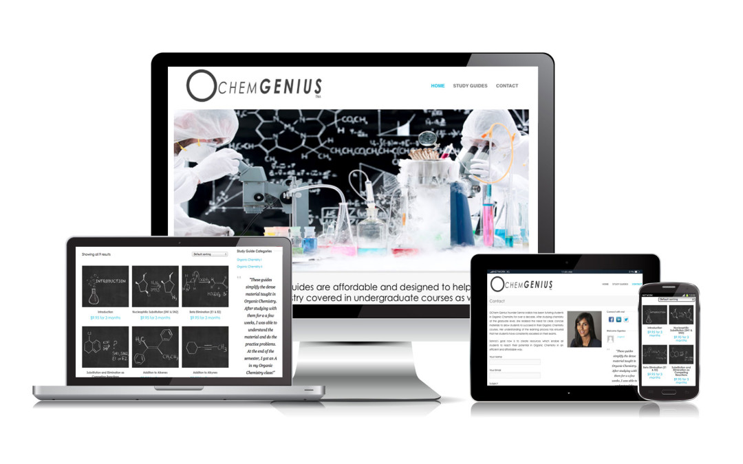 OChemGenius.com has launched!