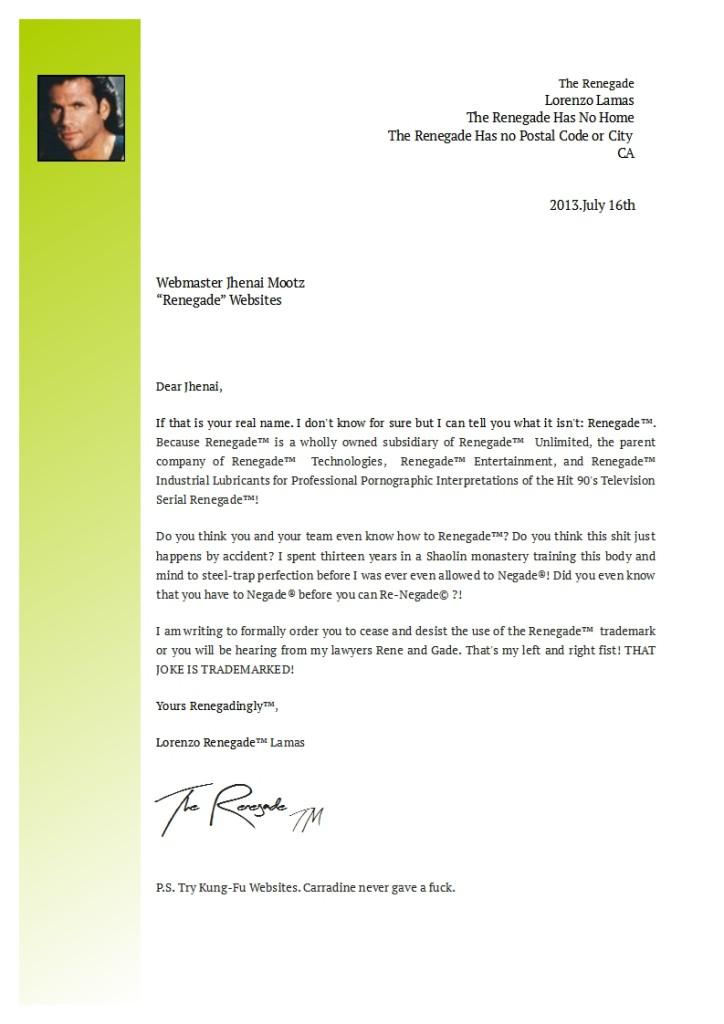 Lorenzo-Lamas-Letter